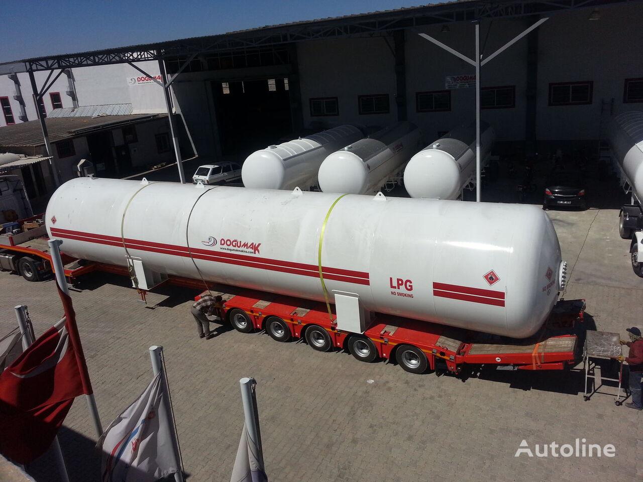 nova DOĞUMAK INDUSTRIAL LPG STORAGE TANKS cisterna za gas