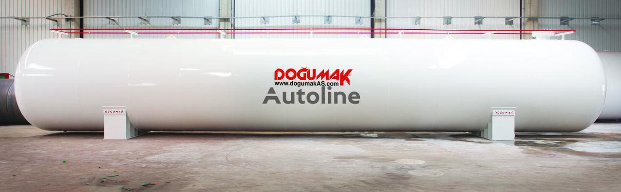 nova DOĞUMAK LPG STORAGE 125 M3 WHIT ASME DIV2 SEC.8 cisterna za gas