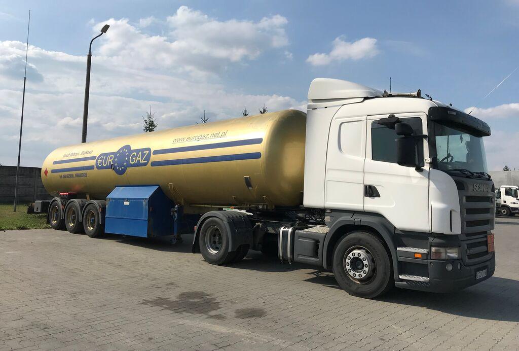 DROMECH CNG 45 cisterna za gas