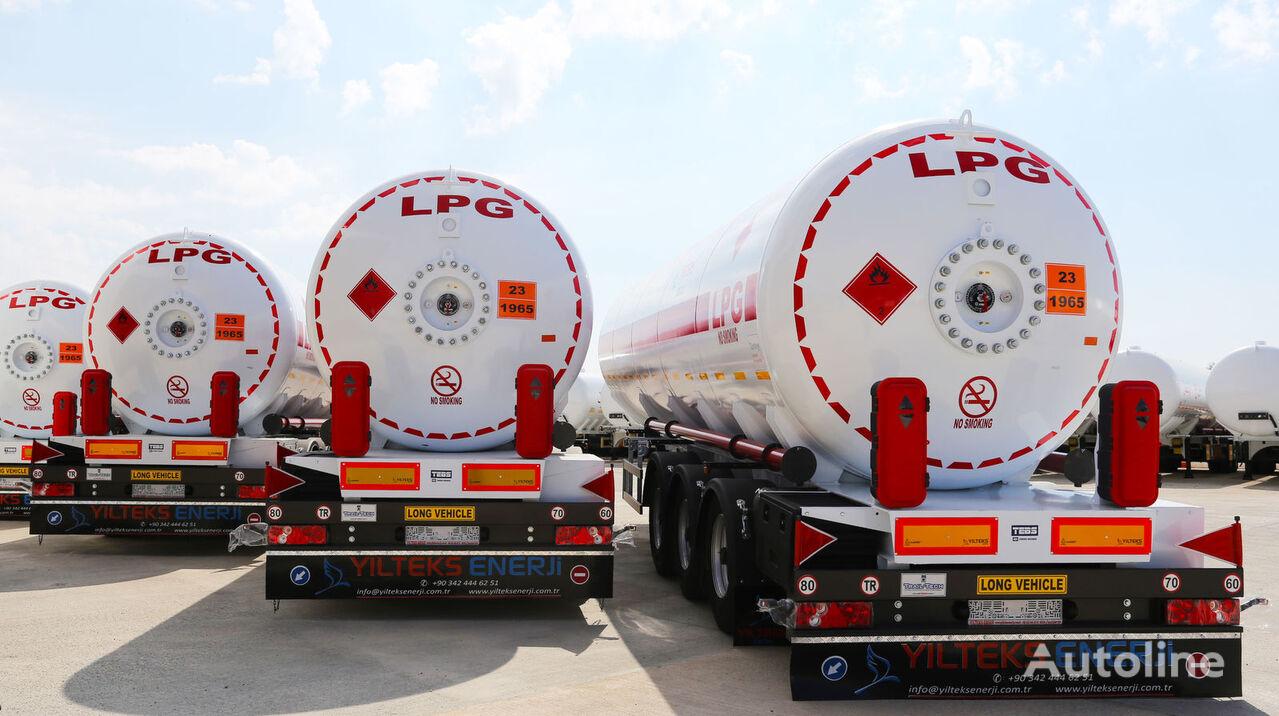 nova YILTEKS 45 M3 LPG SEMI TRAILER  cisterna za gas