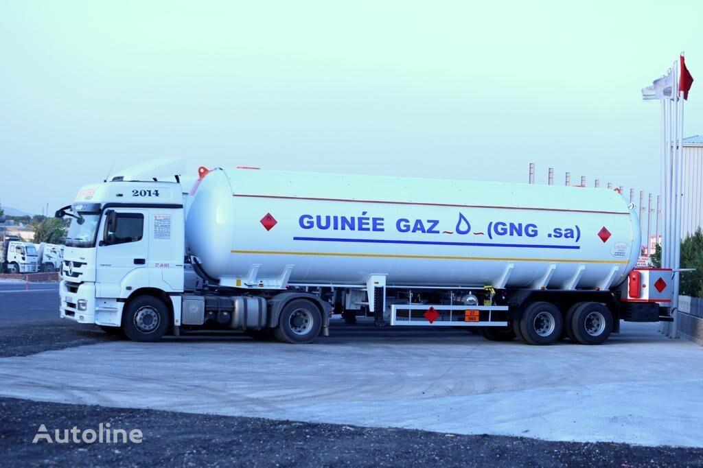 nova YILTEKS LPG SEMI-TRAILER cisterna za gas