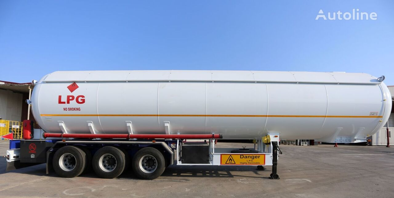 nova YILTEKS LPG SEMI-TRAILER TRANSPORT TANKS cisterna za gas