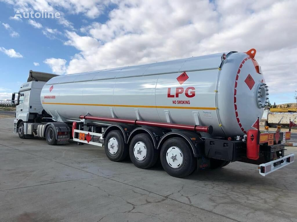 nova YILTEKS LPG Semi-Trailer 46m3 ASME  cisterna za gas