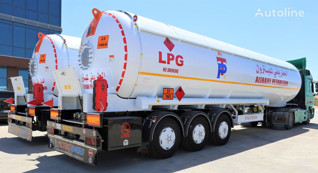 nova YILTEKS Semi Trailer LPG Tank  cisterna za gas