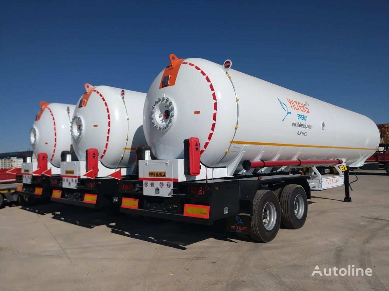 nova YILTEKS Trailer LPG  cisterna za gas