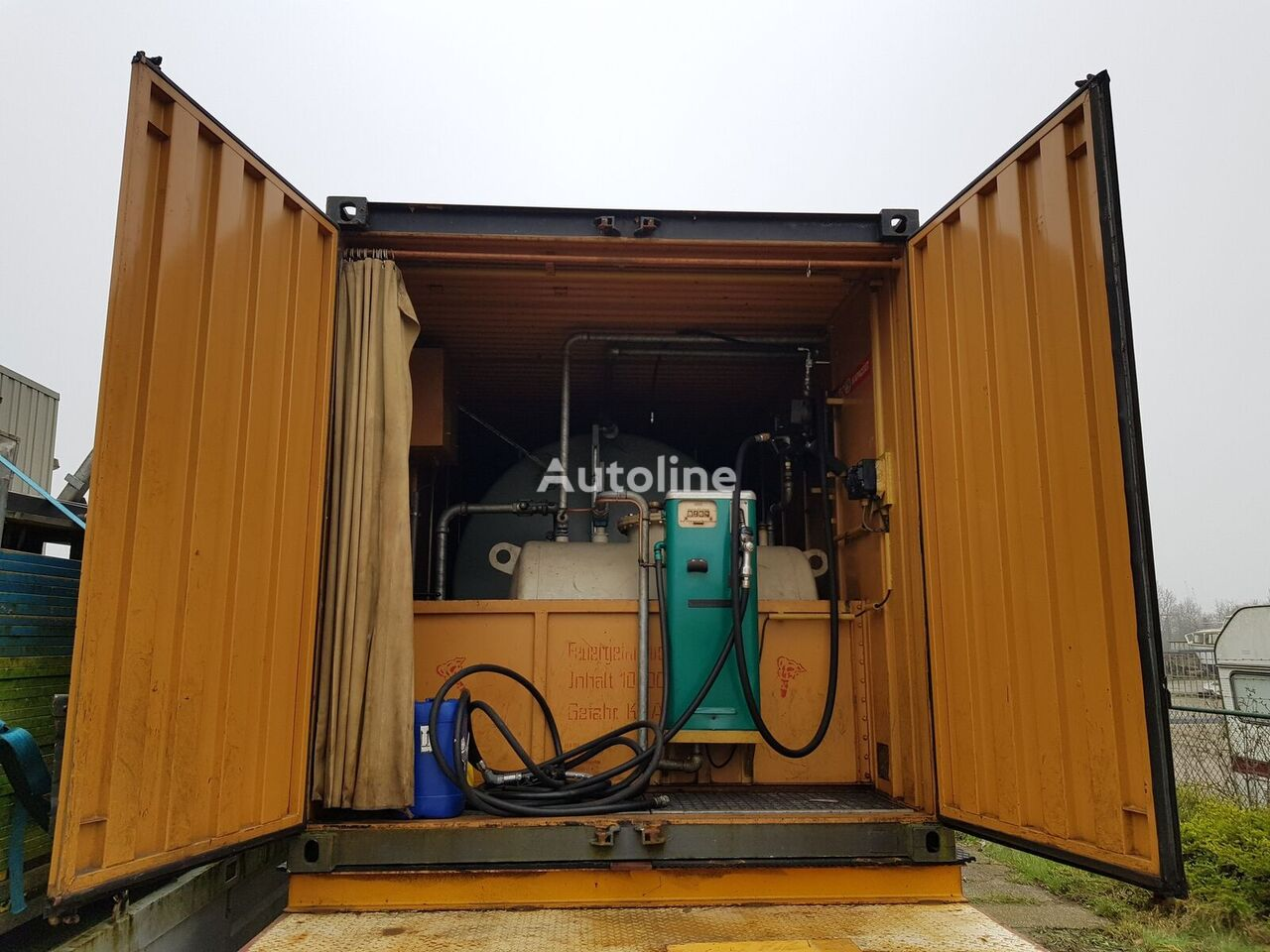 ONBEKEND Fuel container 10.000 + 2.000 Ltr cisterna za goriva i maziva