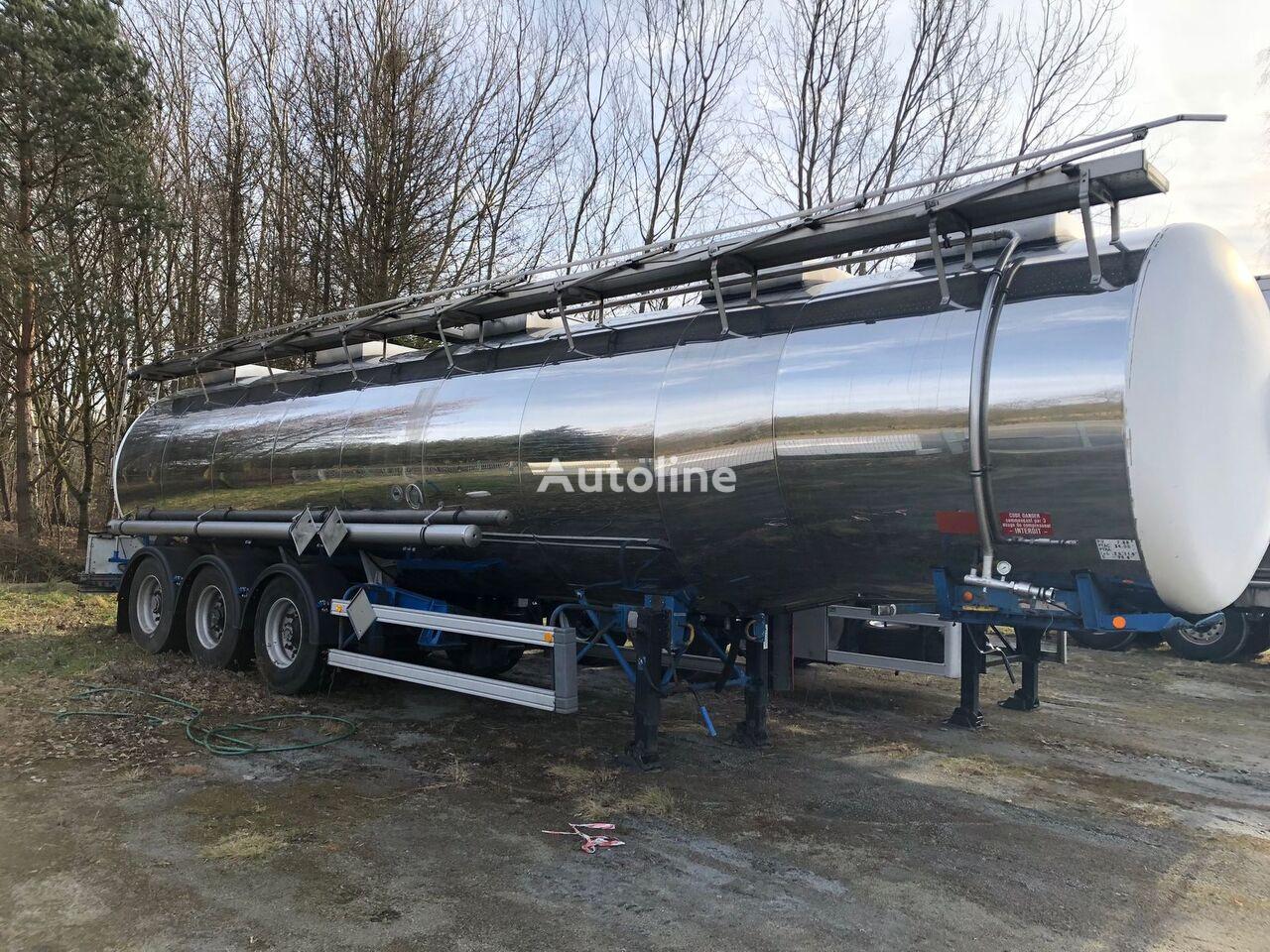 MAGYAR 33000L cisterna za prevoz hemikalija