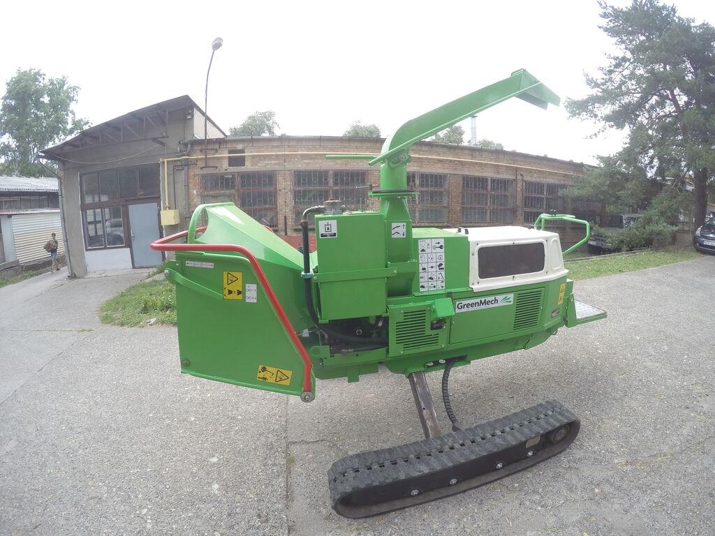 GreenMech Safetrak1928 drobilica za drvo