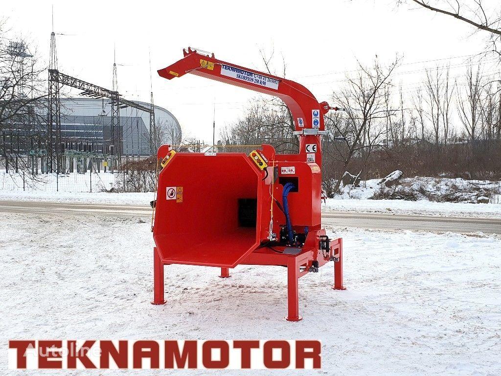 nova TEKNAMOTOR Skorpion 250R/90 drobilica za drvo