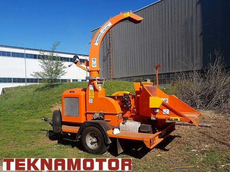 nova TEKNAMOTOR Skorpion 350 SDB drobilica za drvo