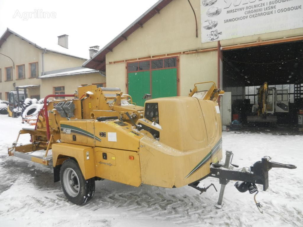 VERMEER  HG 200 rębak chipper drobilica za drvo
