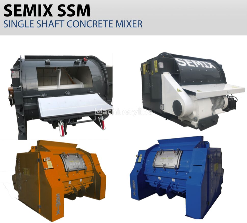 nova SEMIX betonska mešalica