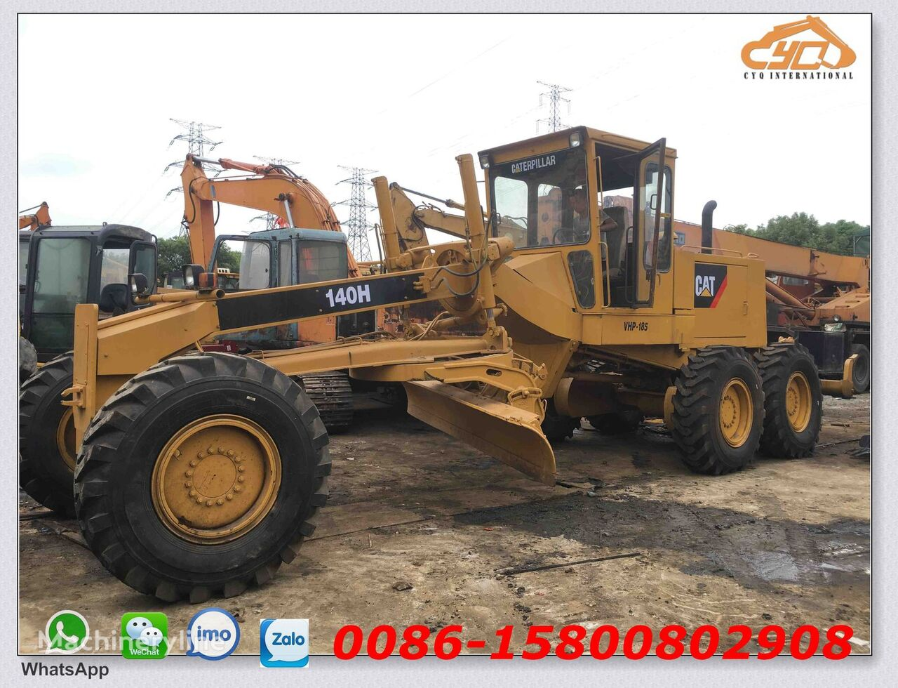 CATERPILLAR 140H grejder