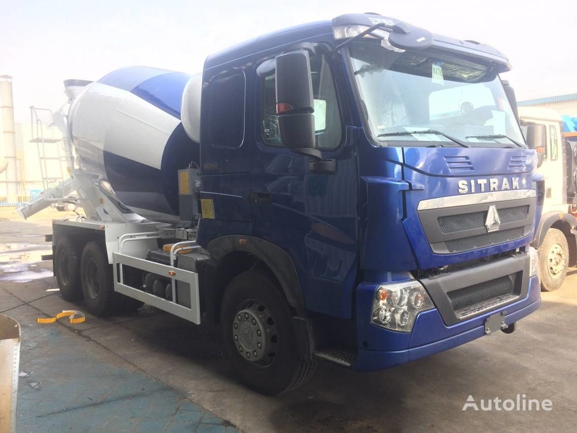 novi HOWO SITRAK T7H kamion s mešalicom za beton