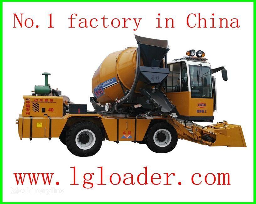 novi LUZUN self loading concrete mixer1 kamion s mešalicom za beton