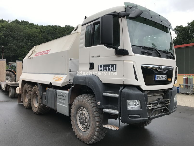 MAN TGS spreader 33.500 - 6x6 mašina za reciklažu asfalta