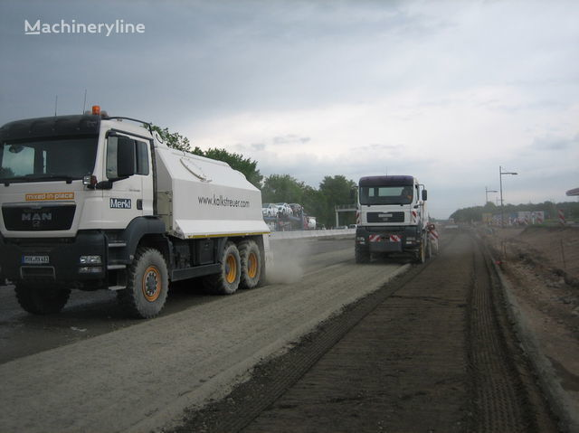 MAN amag cement spreader MAN TGS 33.440 - 6x6 mašina za reciklažu asfalta