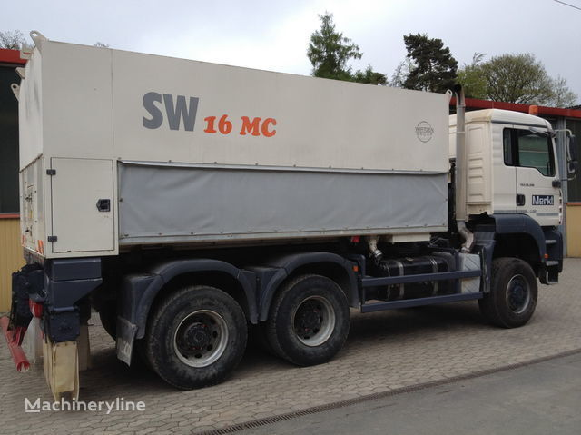 WIRTGEN Spreader Streumaster SW 16 MC mašina za reciklažu asfalta