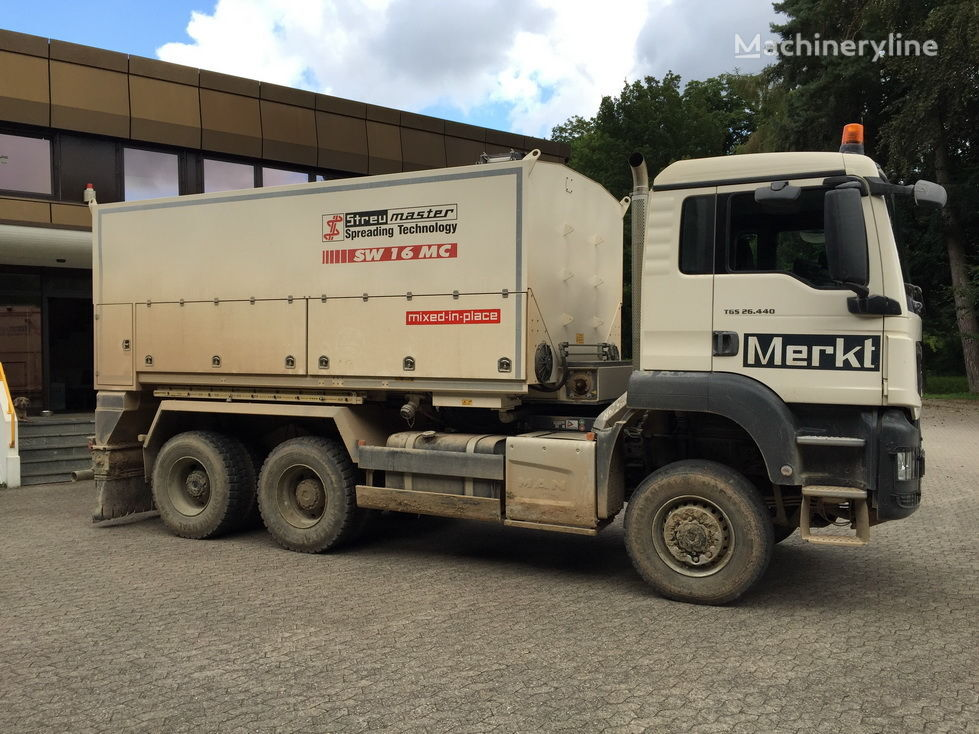 WIRTGEN Wirtgen Spreader SW16MC mašina za reciklažu asfalta