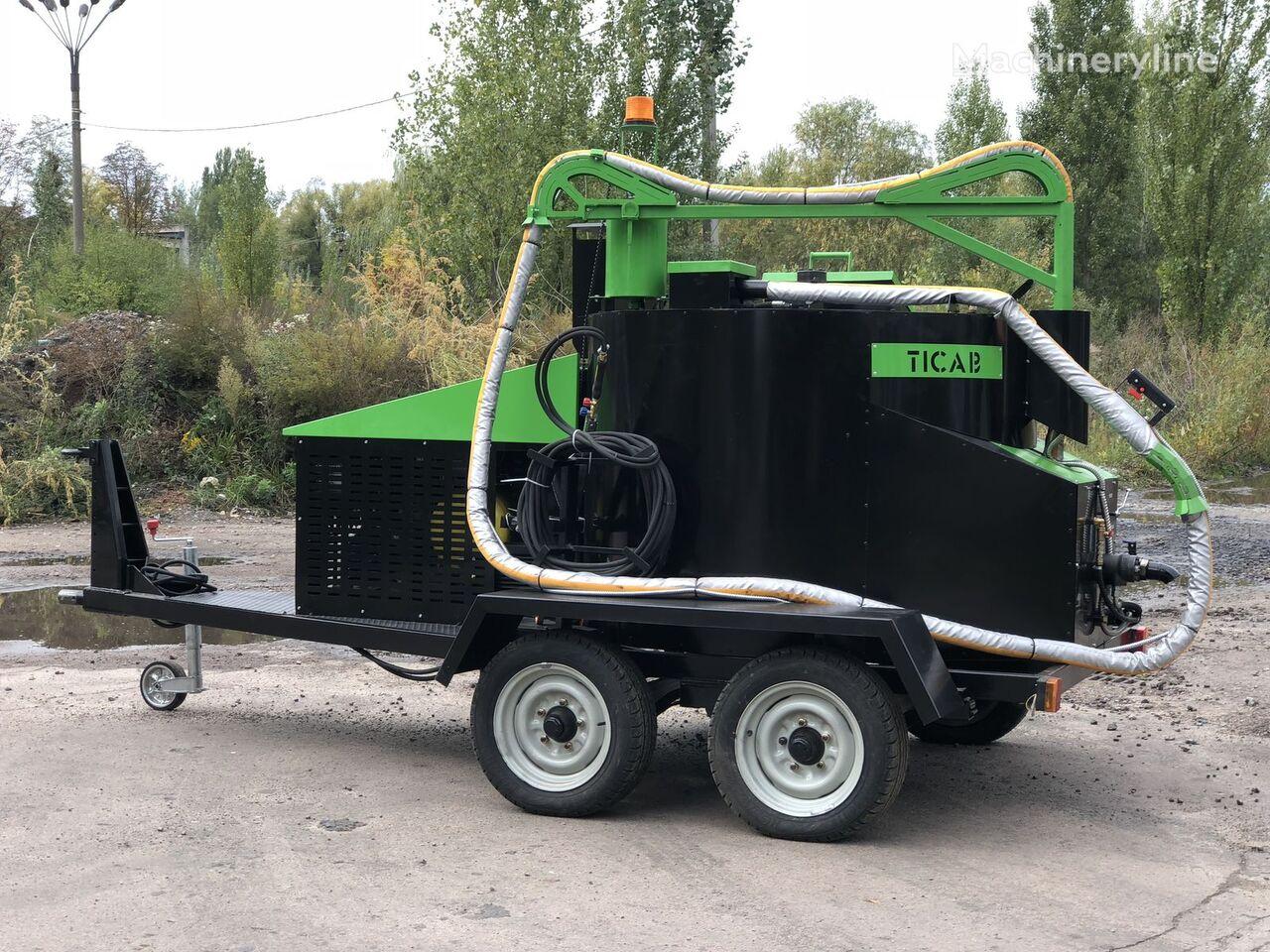 nova TICAB BPM-500 mašina za zalivanje pukotina