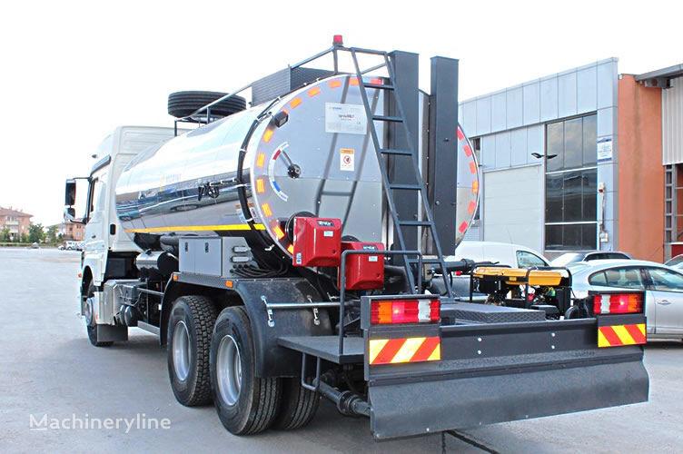 nova MARINI SprayFALT avtogudronator 14m3 prskalica bitu-emulzije