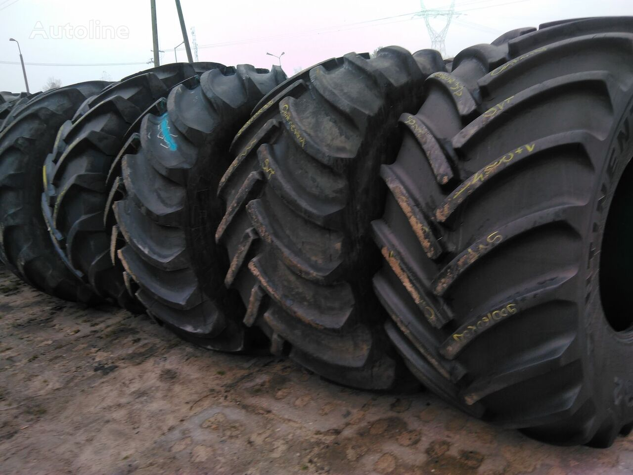 Goodyear Used Agricultural tires of all sizes guma za kamione