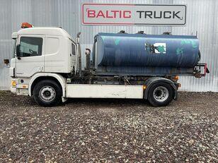 SCANIA P94-300, 4x2 HOOKLIFT + WATER TANK autocisterna