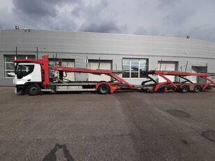 IVECO Stralis  autotransporter + prikolica autotransportera
