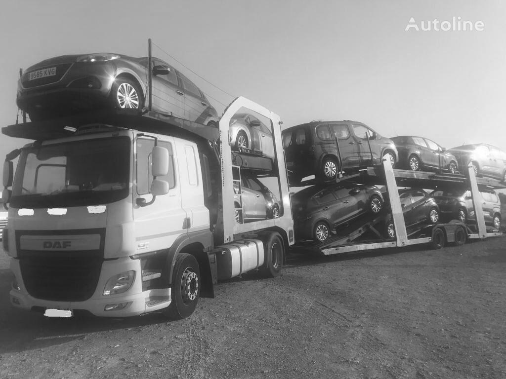 DAF CF 440 autotransporter + prikolica autotransportera