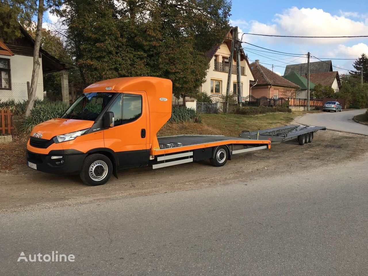 IVECO daily 35s18 futoval autotransporter