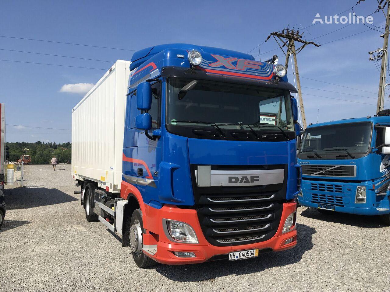 DAF XF 106.440 E6 105 kontener 6x2 , Super stan izotermni kamion