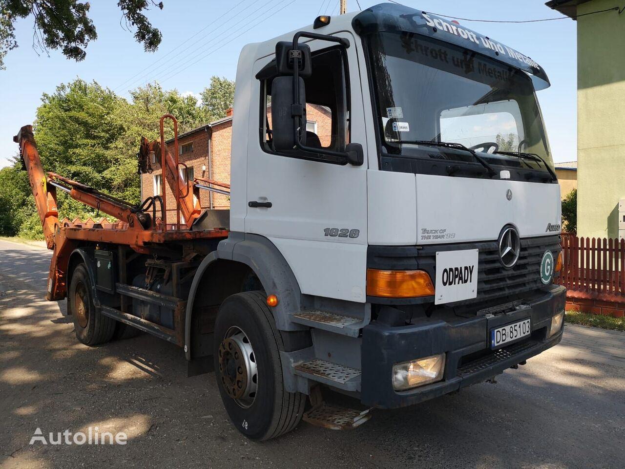 MERCEDES-BENZ Atego 1828 kamion autopodizač kontejnera