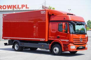 MERCEDES-BENZ Atego 1224, E6, 4x2, 6.10m container, GLOB cabin, retarder kamion furgon