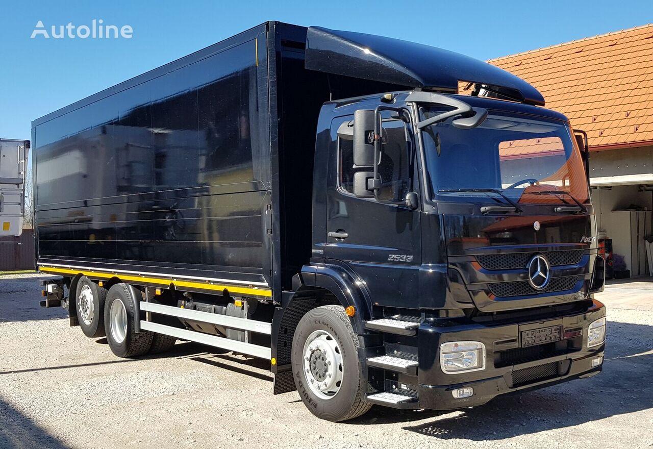 MERCEDES-BENZ Axor 2533 L kamion furgon
