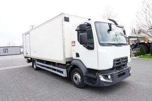 RENAULT D12 , E6 , 4x2 , Box 18 EPAL side door  , tail lift Dhollandia , kamion furgon