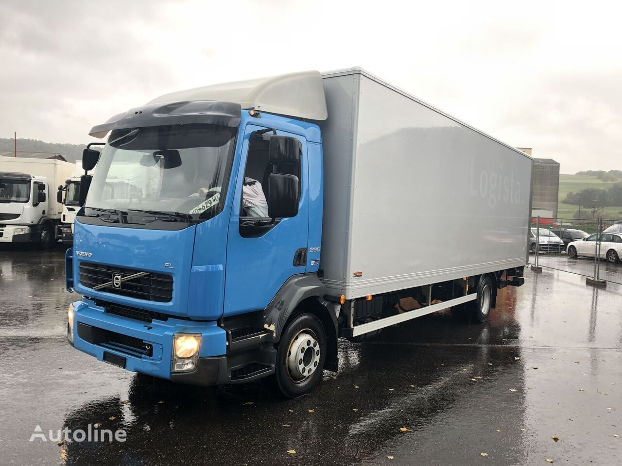 VOLVO FLL-290 kamion furgon