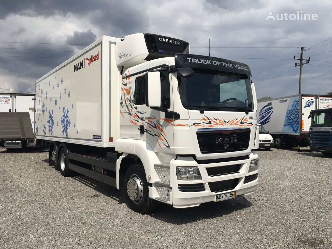 MAN TGX TGS 26.360 6x2 Multitemperatura , Super Stan ! kamion hladnjača