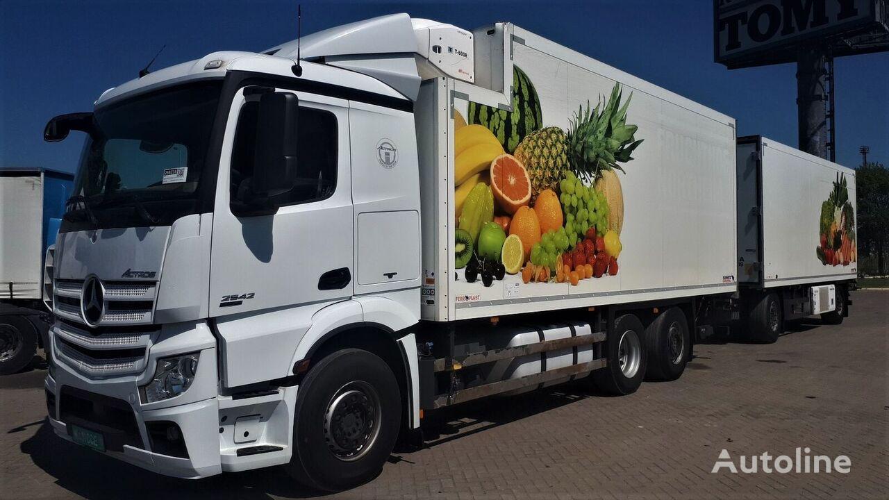 MERCEDES-BENZ Actros 2542 + Schmitz  German brief kamion hladnjača + prikolica hladnjača