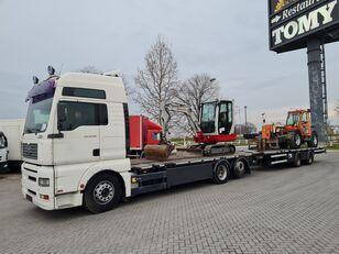 MAN 26.390 TGA   kamion platforma + prikolica platforma