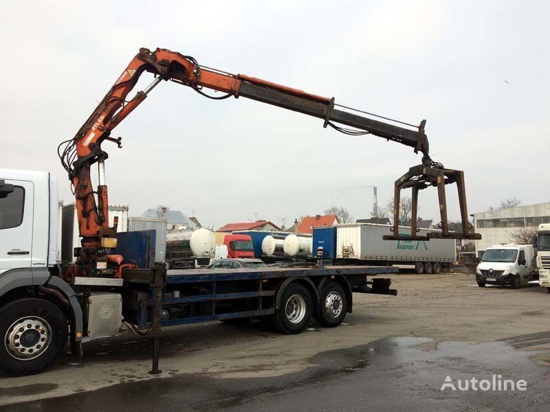 MERCEDES-BENZ Axor 2529 6x2 - Kran ATLAS 120.2E kamion platforma
