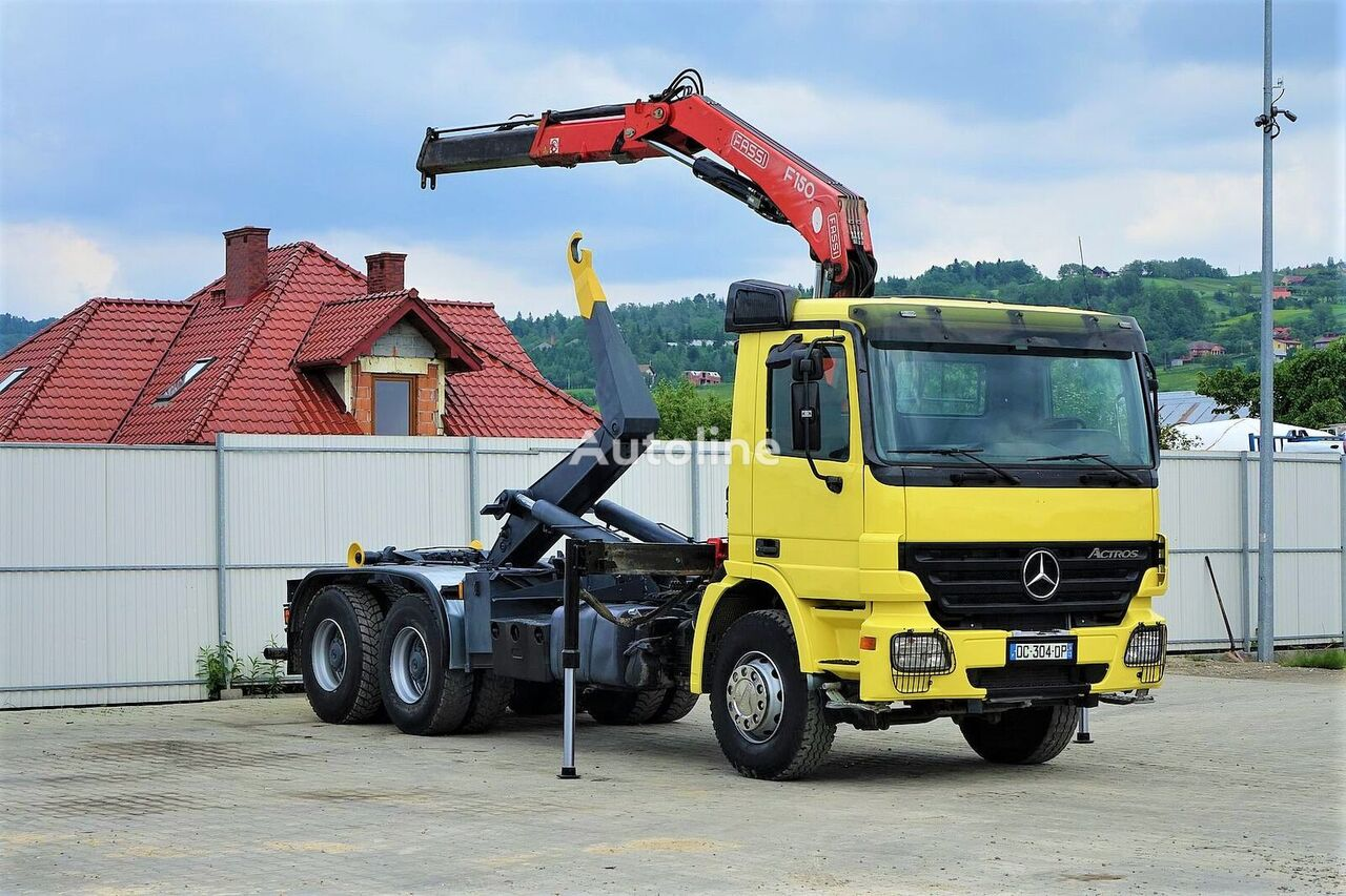 MERCEDES-BENZ Actros 2641  kamion rol kiper