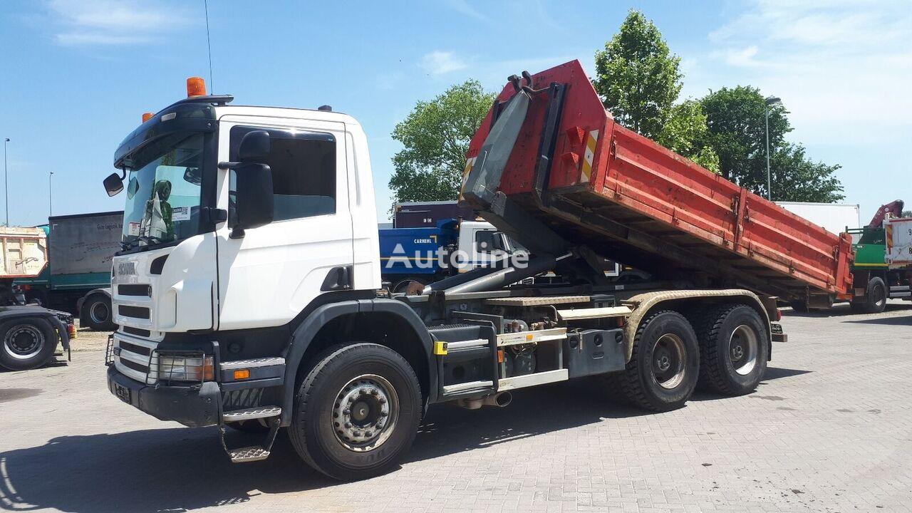 SCANIA P340 6X4  kamion rol kiper