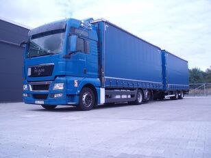 MAN TGX 26.440 kamion s ceradom + prikolica sa ceradom