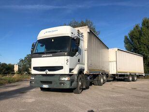 RENAULT PREMIUM  420 DCI + biga Omar kamion s ceradom