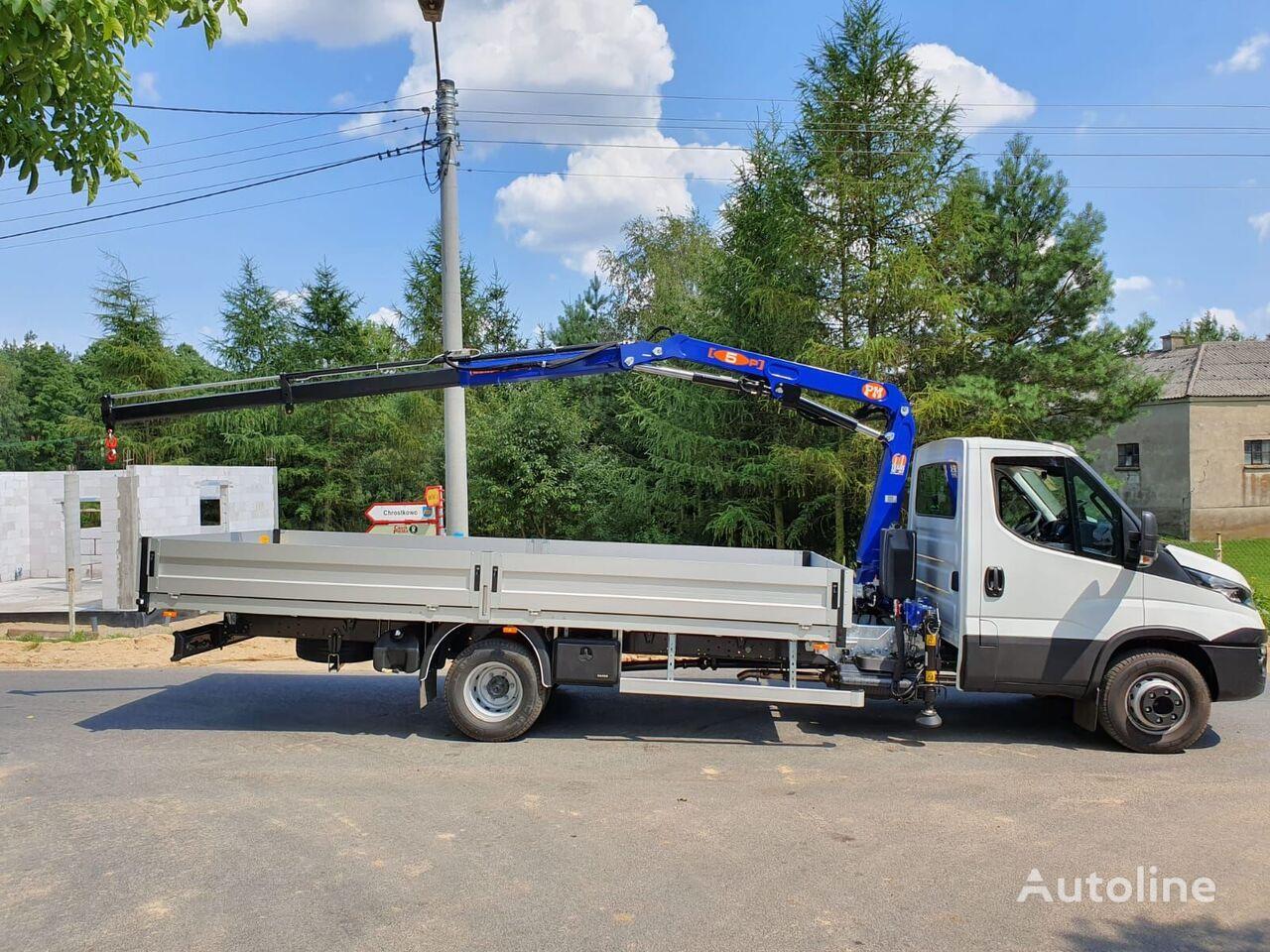 IVECO 72c180 kamion s ravnom platformom