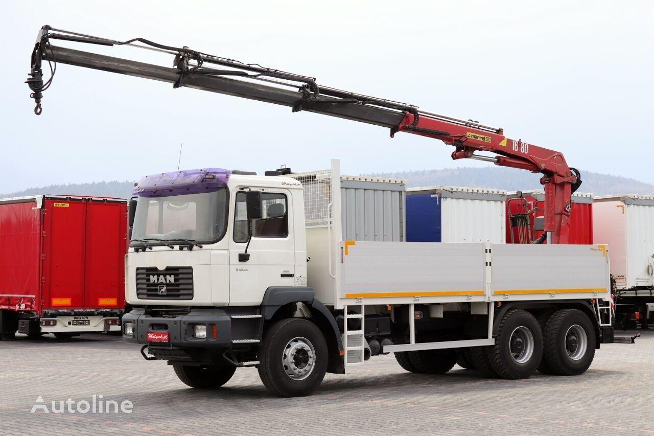 MAN TGA 33.310 kamion s ravnom platformom