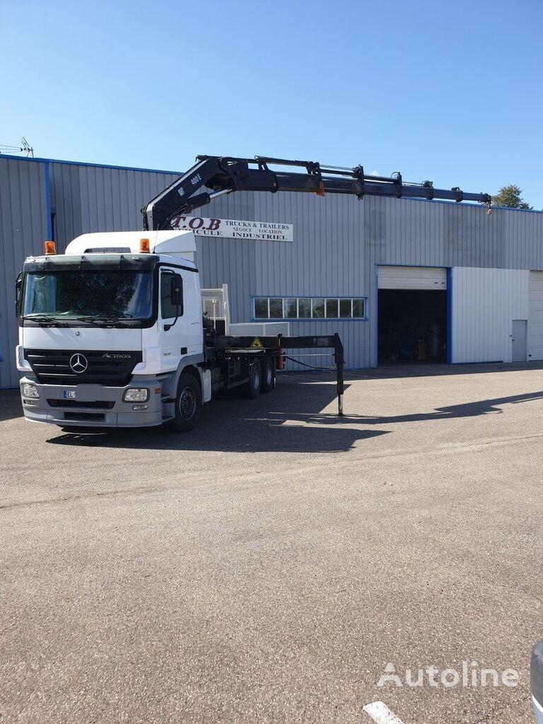 MERCEDES-BENZ ACTROS 2641  kamion s ravnom platformom