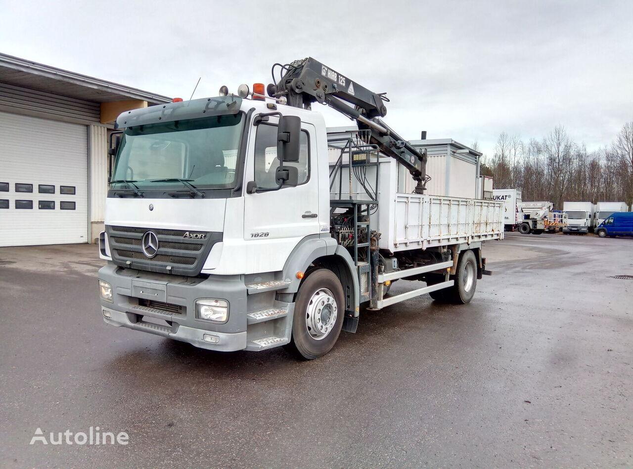 MERCEDES-BENZ Axor 1828K kamion s ravnom platformom