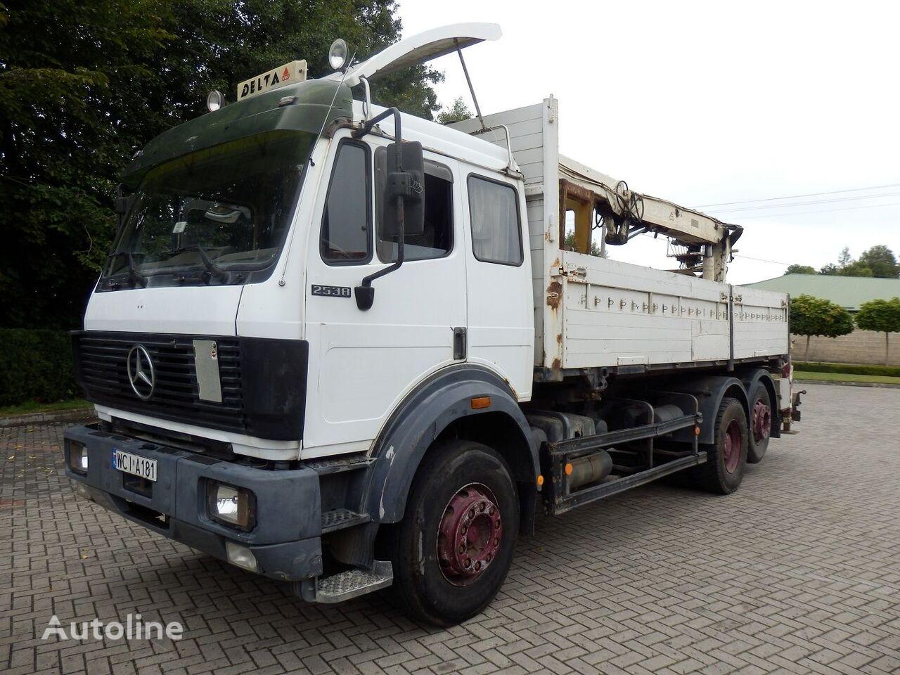 MERCEDES-BENZ SK 2538 6x2 Engine V8 13.t Axles  kamion s ravnom platformom