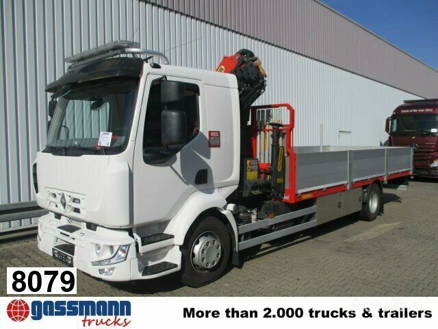 RENAULT Midlum 220 DXi 4x2  Klima/R-CD kamion s ravnom platformom